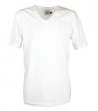 T-shirt_Victor_v-hals_vit