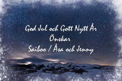 Julkort hemsida Saiboo